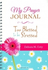 Productafbeelding Prayer journal too blessed