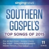 Productafbeelding Singing News Southern Gospel Songs 2015