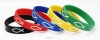 Productafbeelding Armband rubber vis geel